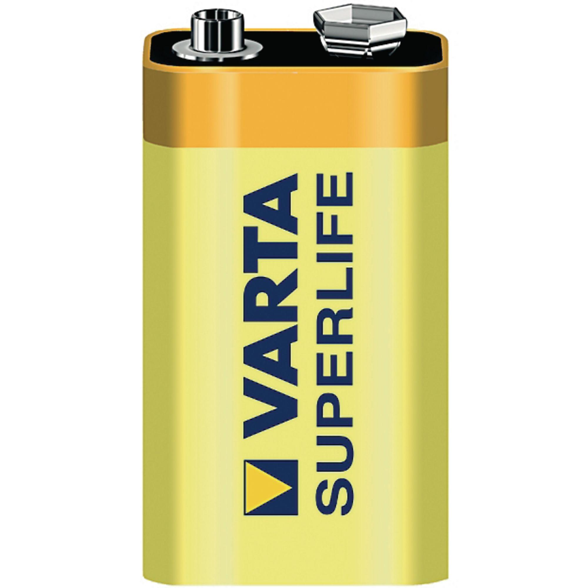 Varta Zinc Battery 9V PP3