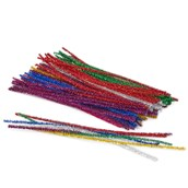 Classmates Tinsel Pipe Cleaners Pack of 100