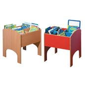 Kinderbox - Square - Red/Blue