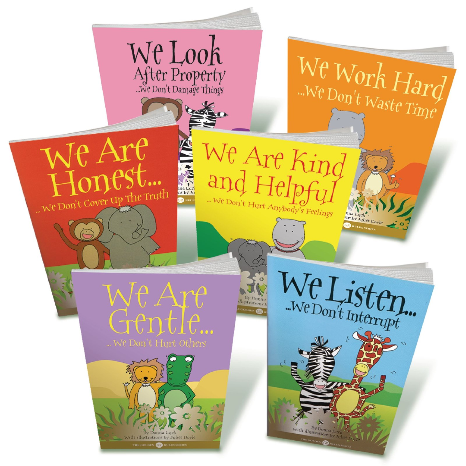 Golden Rules Book Pack - Pack of 6