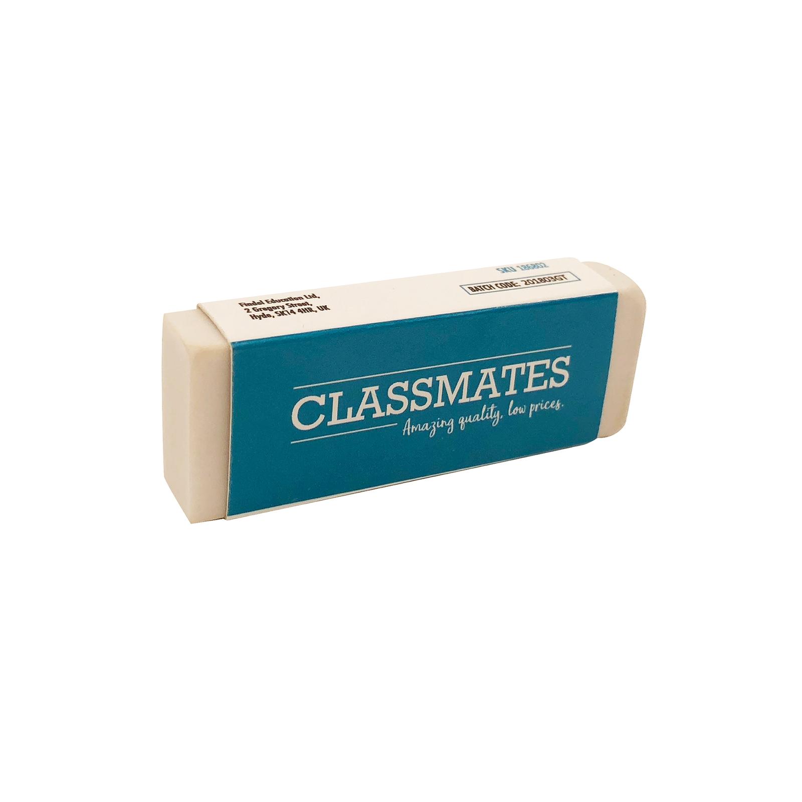 Classmates Eraser White - Pack of 20