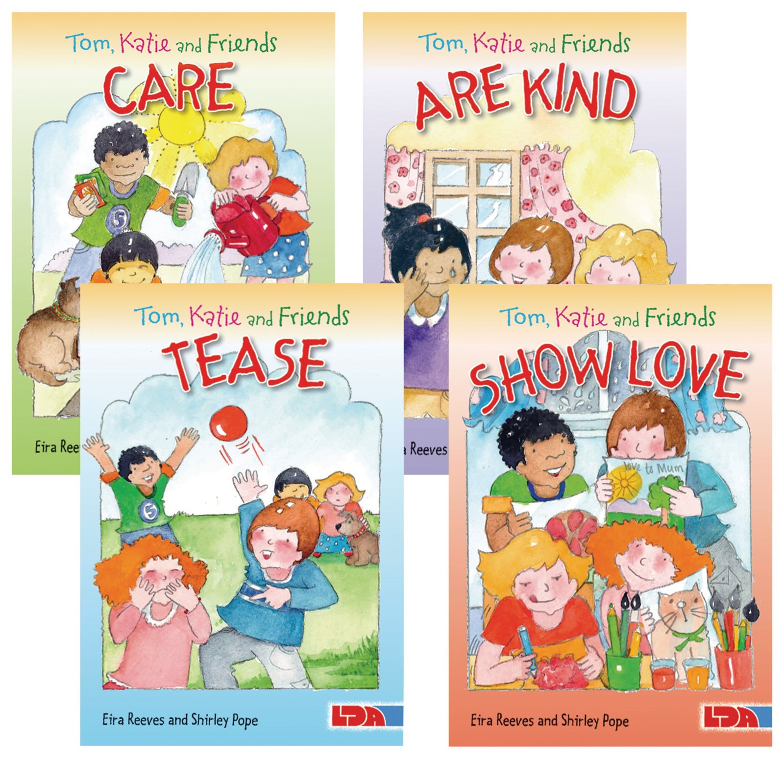 Tom, Katie and Friends Books - Pack of 4