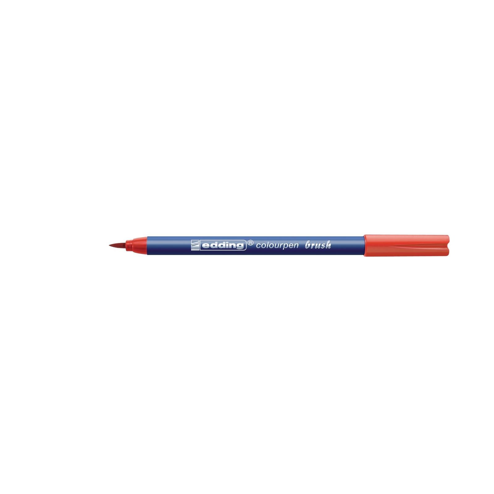 Edding Colourpen Brush - Assorted - Pack of 12