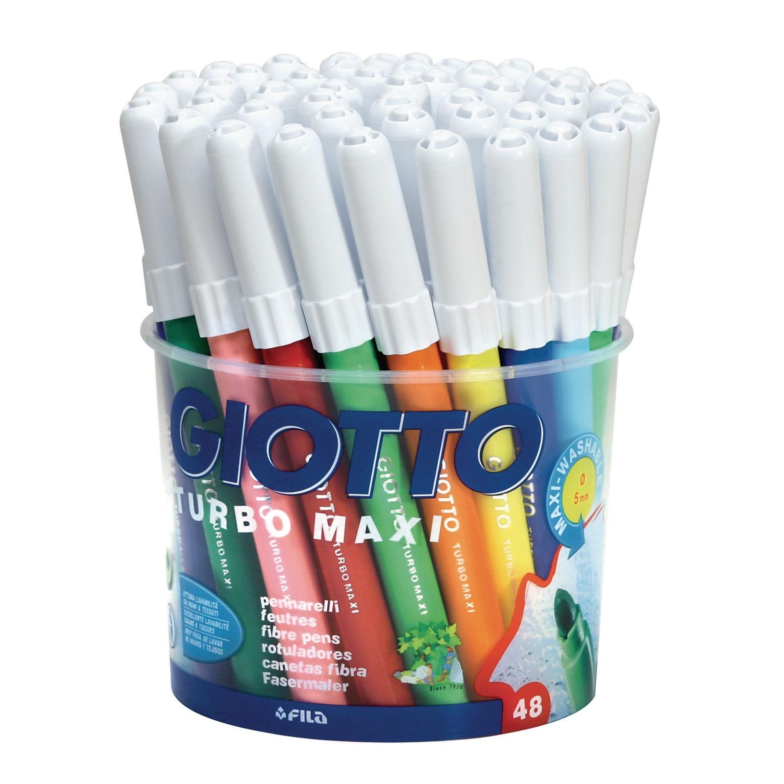 Giotto Turbo Maxi Colour Pens