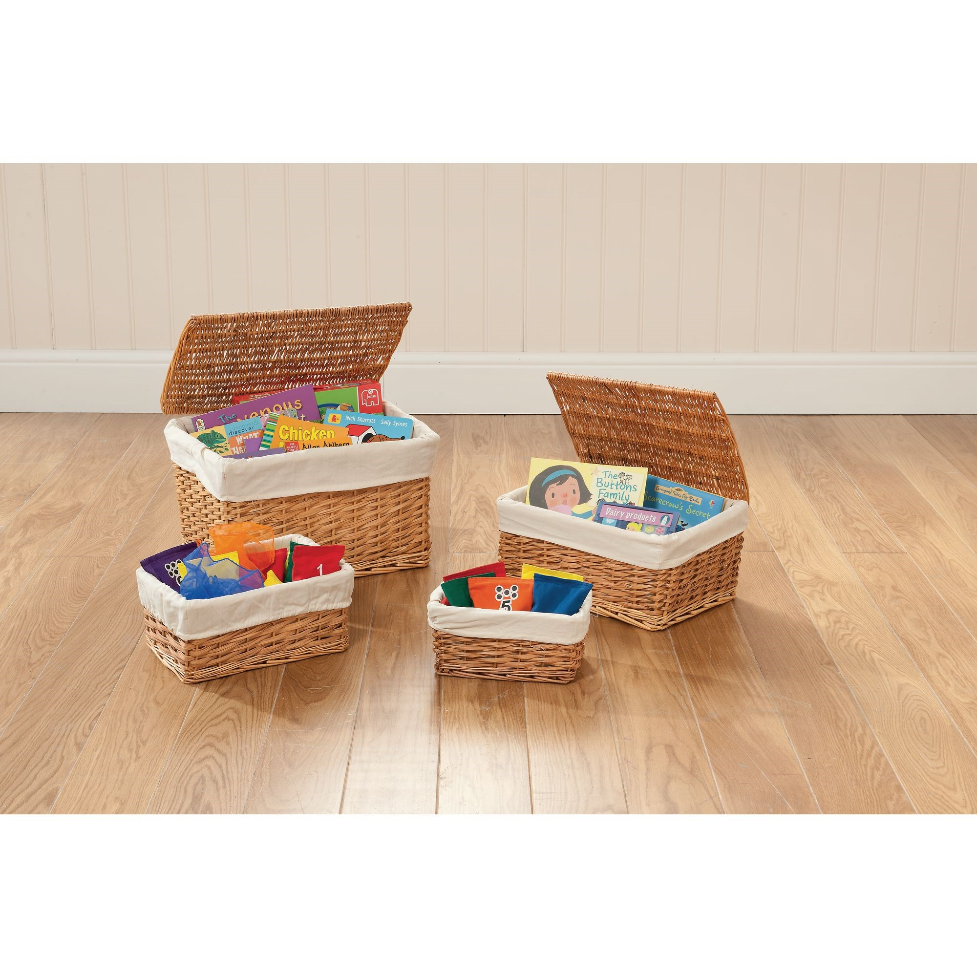 Wicker Hamper & Storage Basket