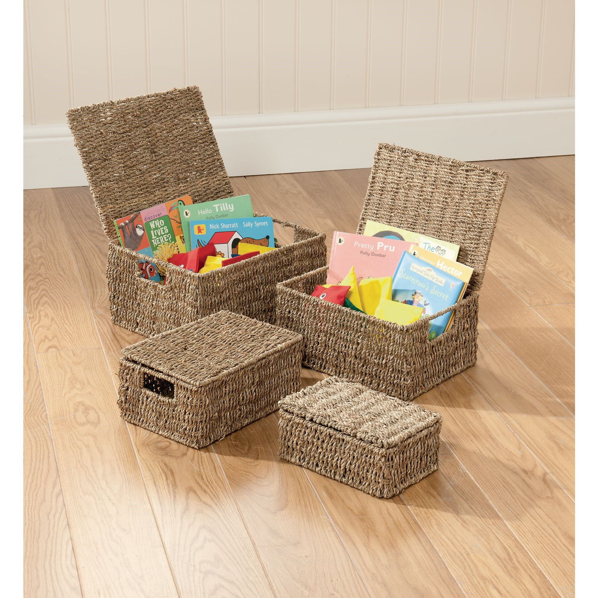 Seagrass Hampers - Set of 4