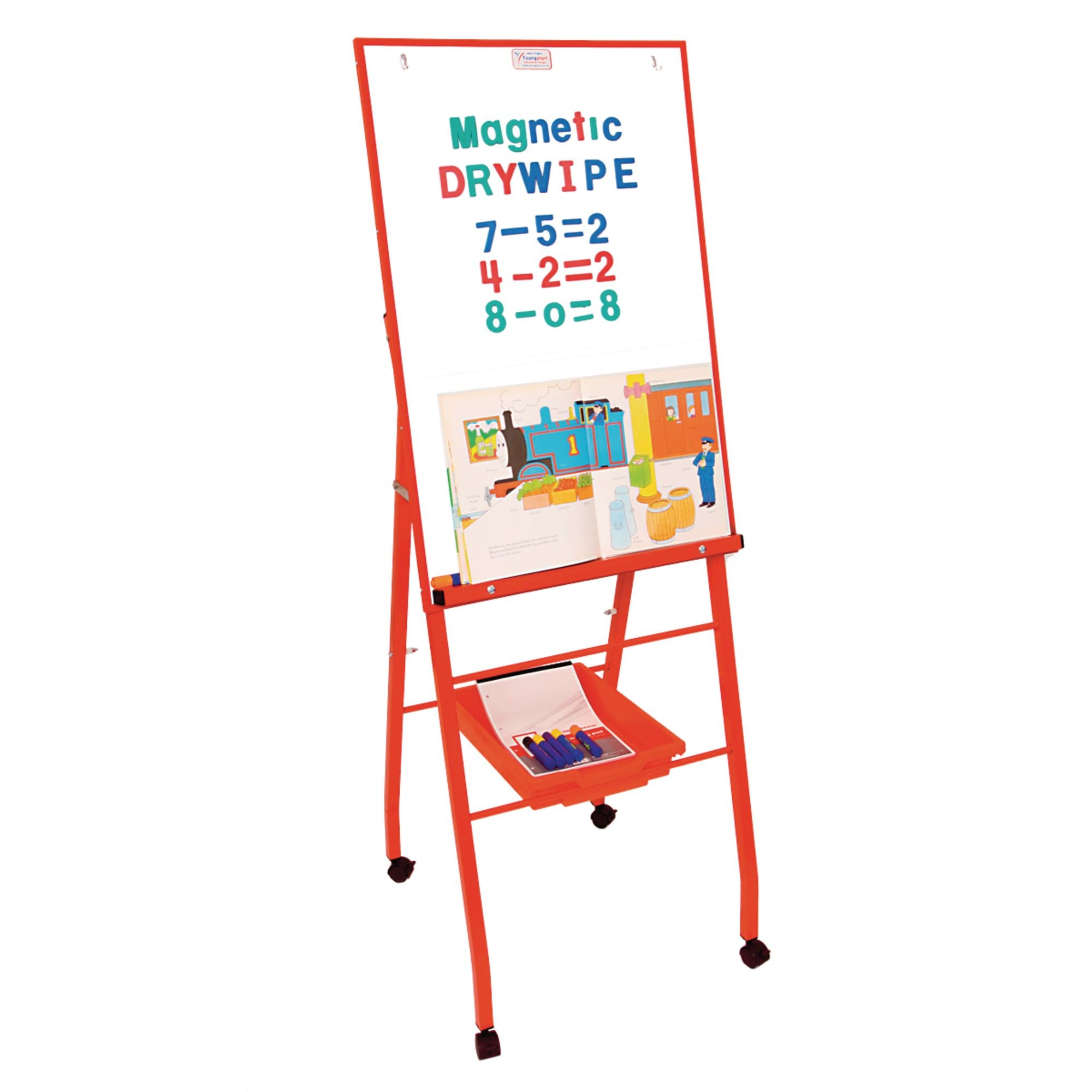 Single Brd A Frame Easel-Blue
