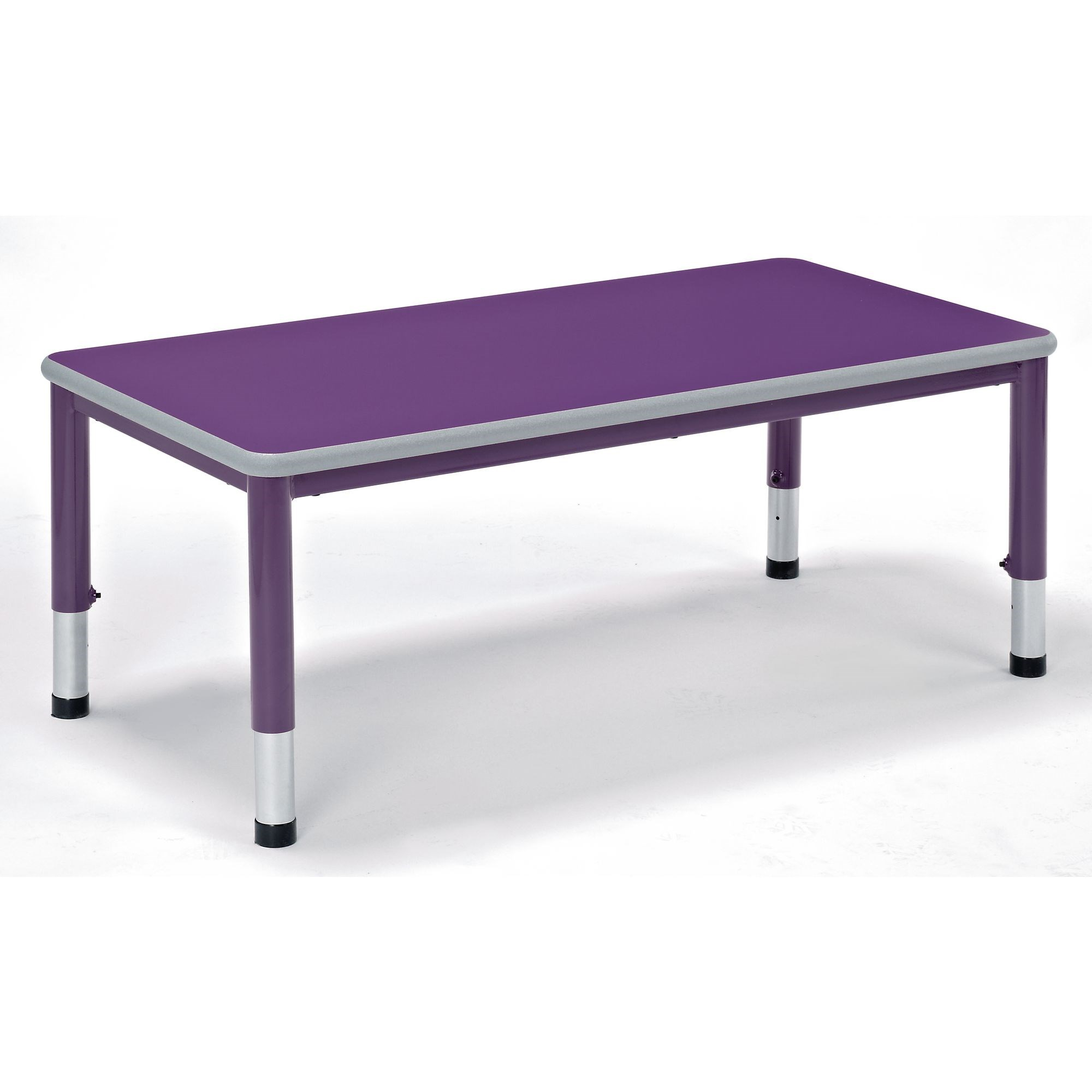 Harlequin Large Rectangular Table Purple