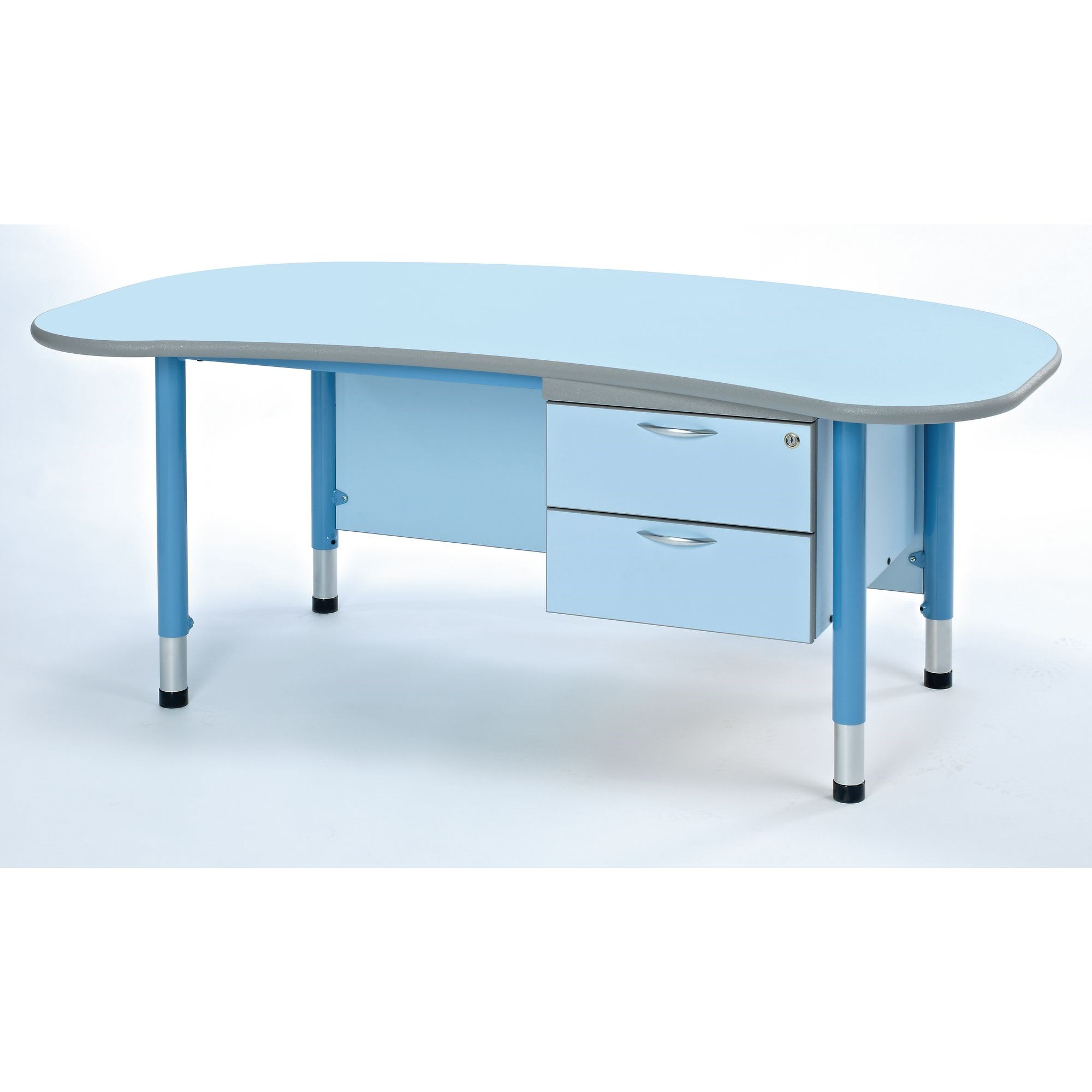 Harlequin Teachers Desk  Purple