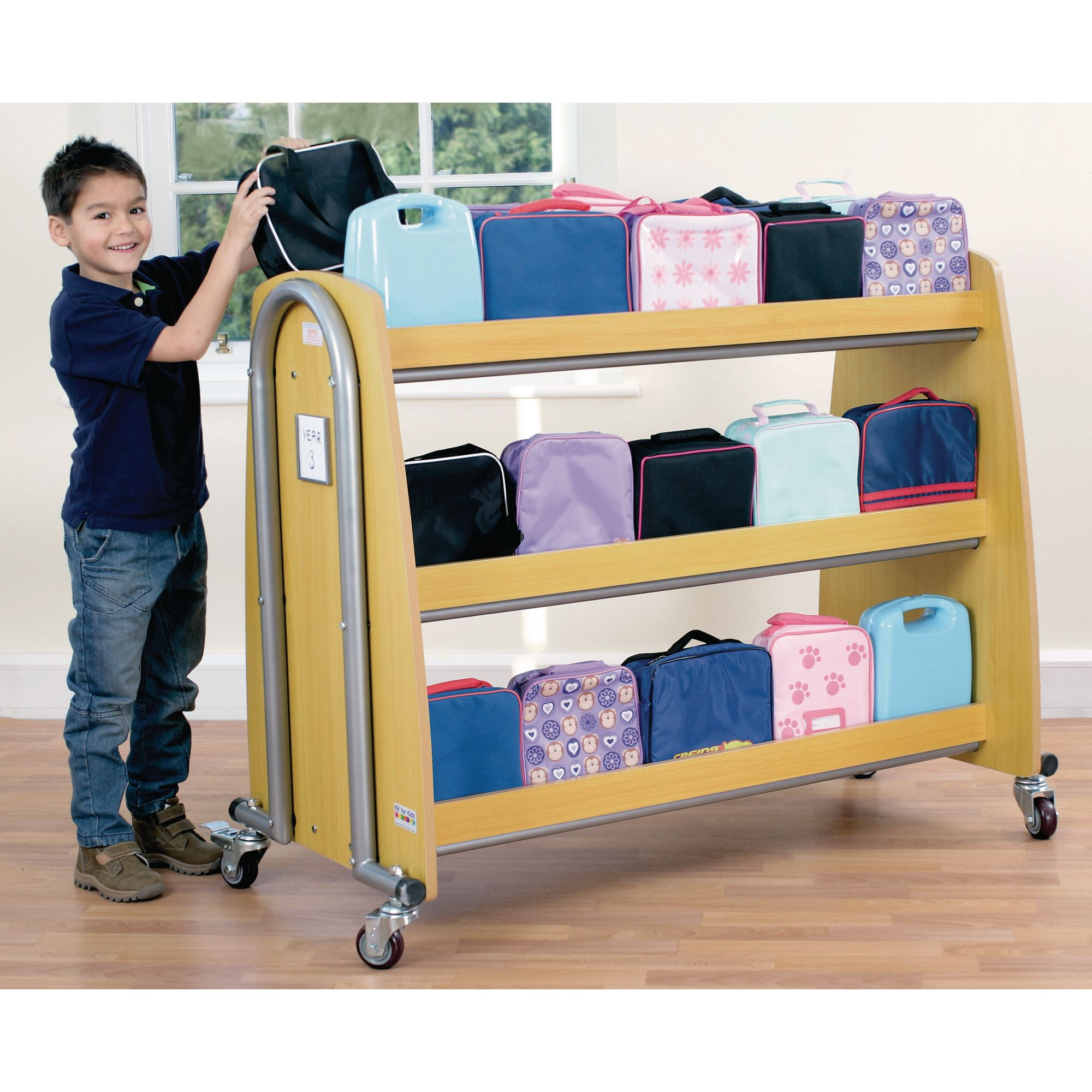 Tuf2 Lunchbox Trolley Single