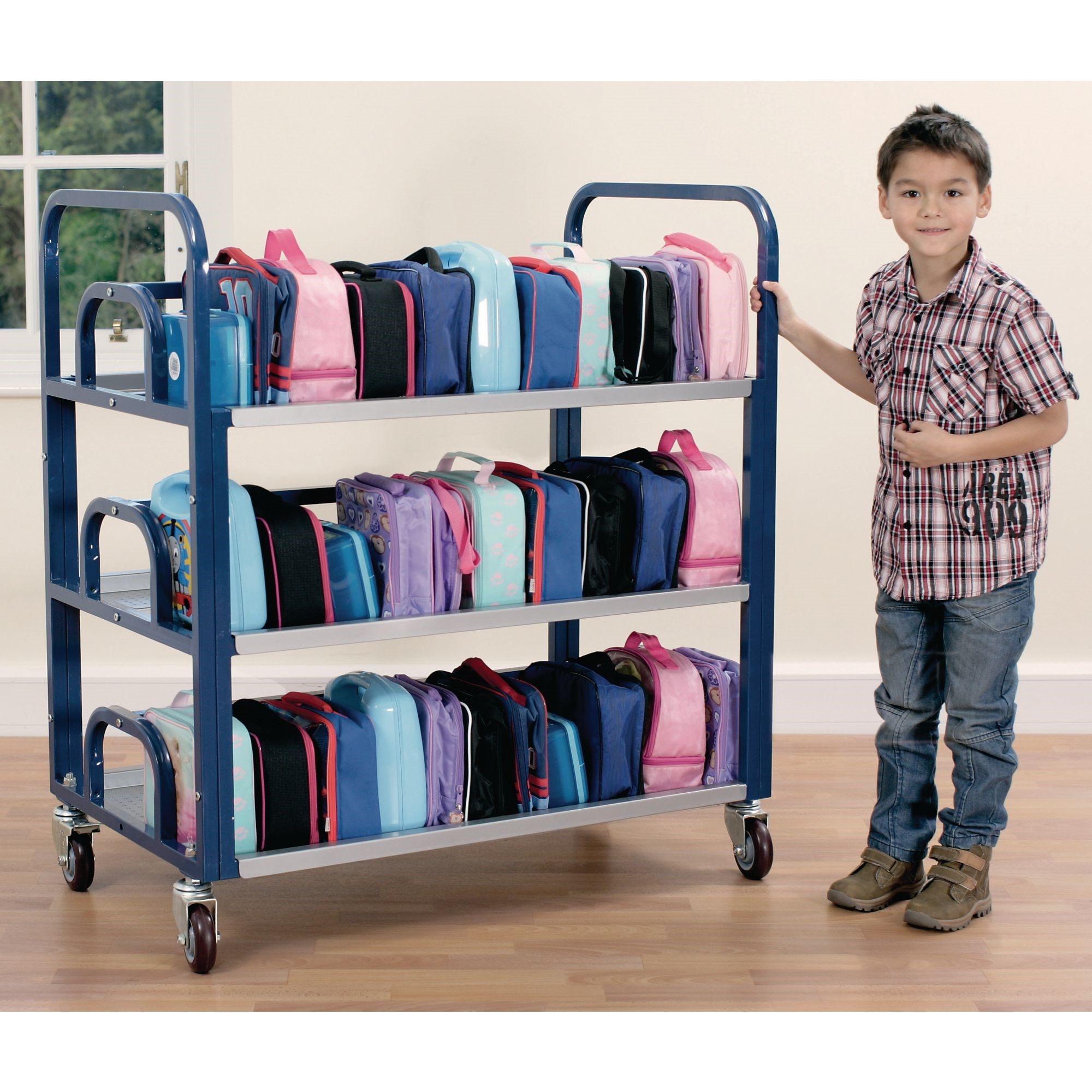 Tuf Double Lunch Box Trolley