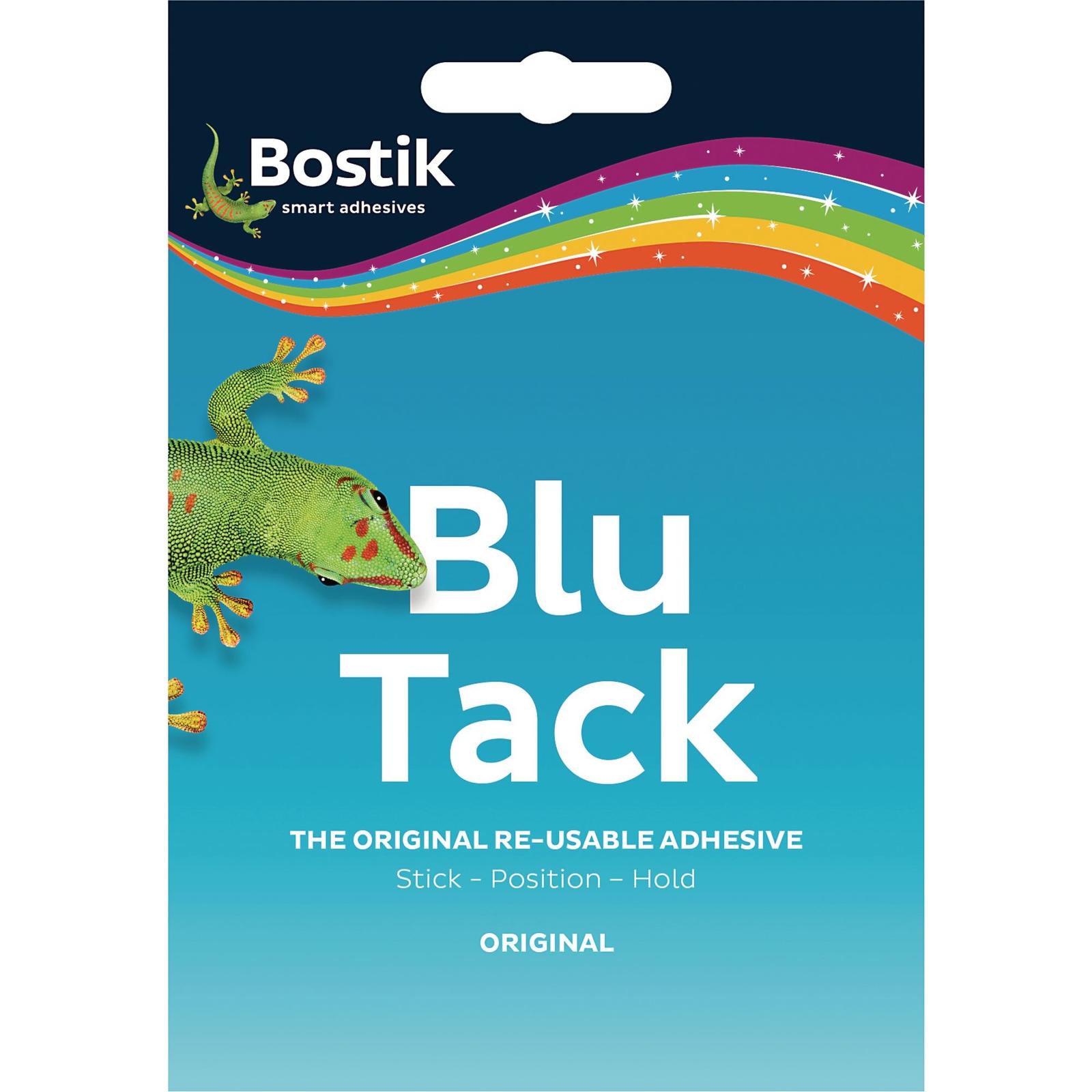 Bostik Blu Tack Blue Original 60g- Pack of 12