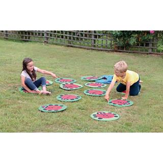 Back To Nature Counting Ladybird Mat Set Pack