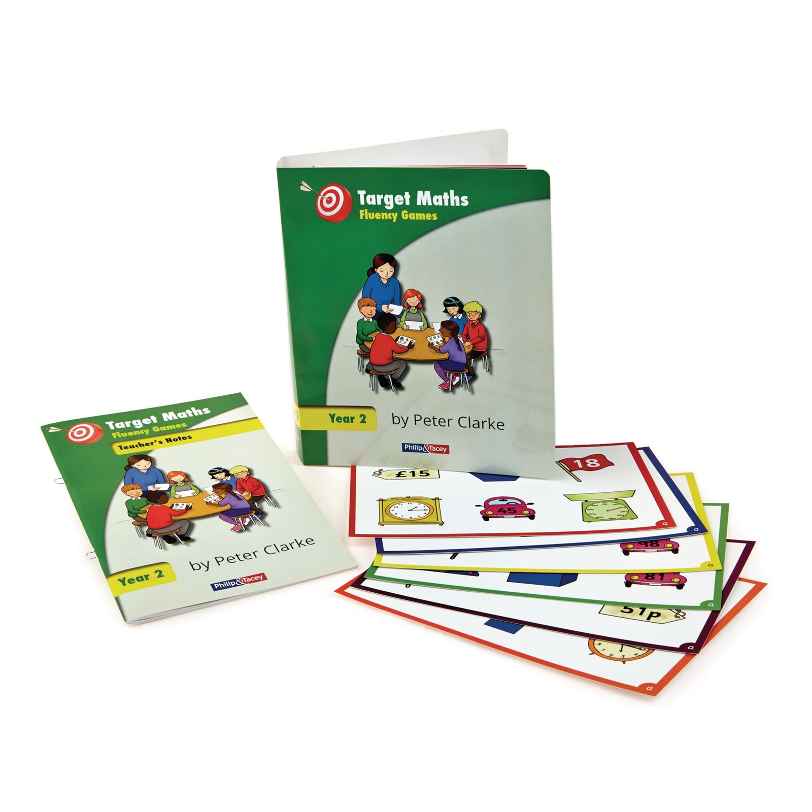Target Maths Fluency Games by Peter Clarke Year 2 | Hope Education