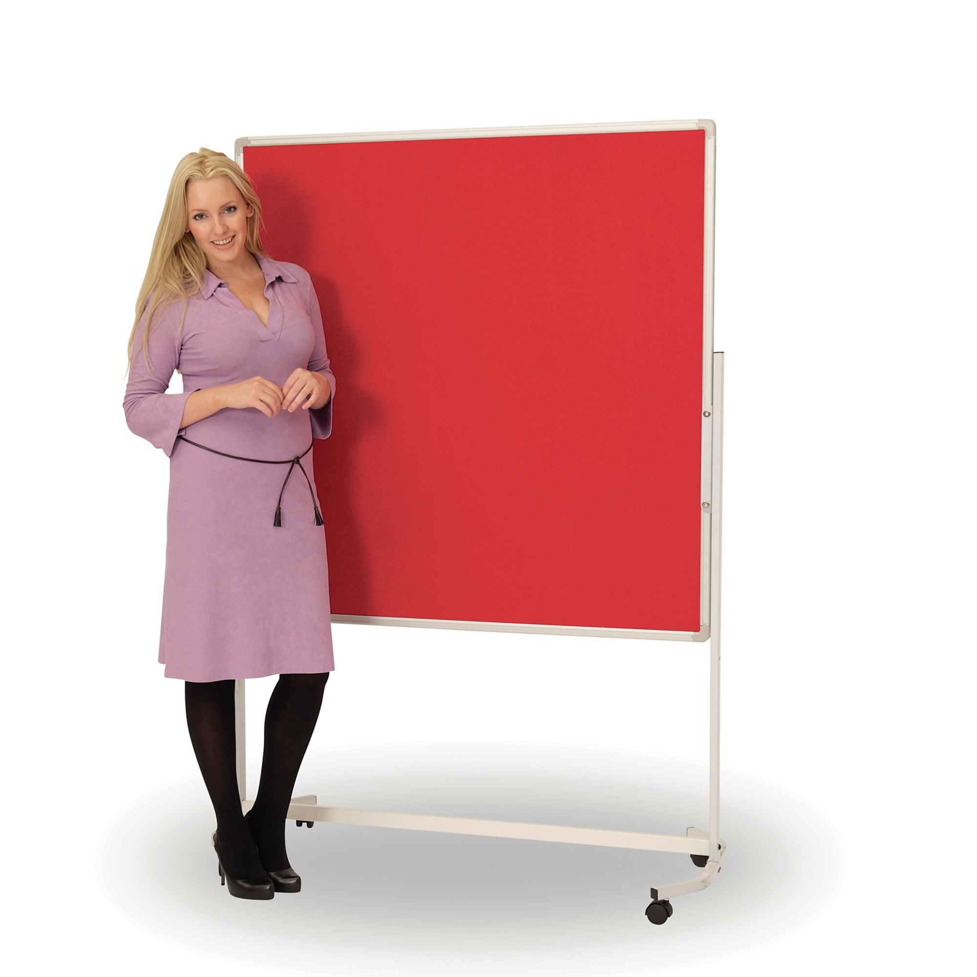 Mobile Pinboard Display Screen 900x1200 Blue