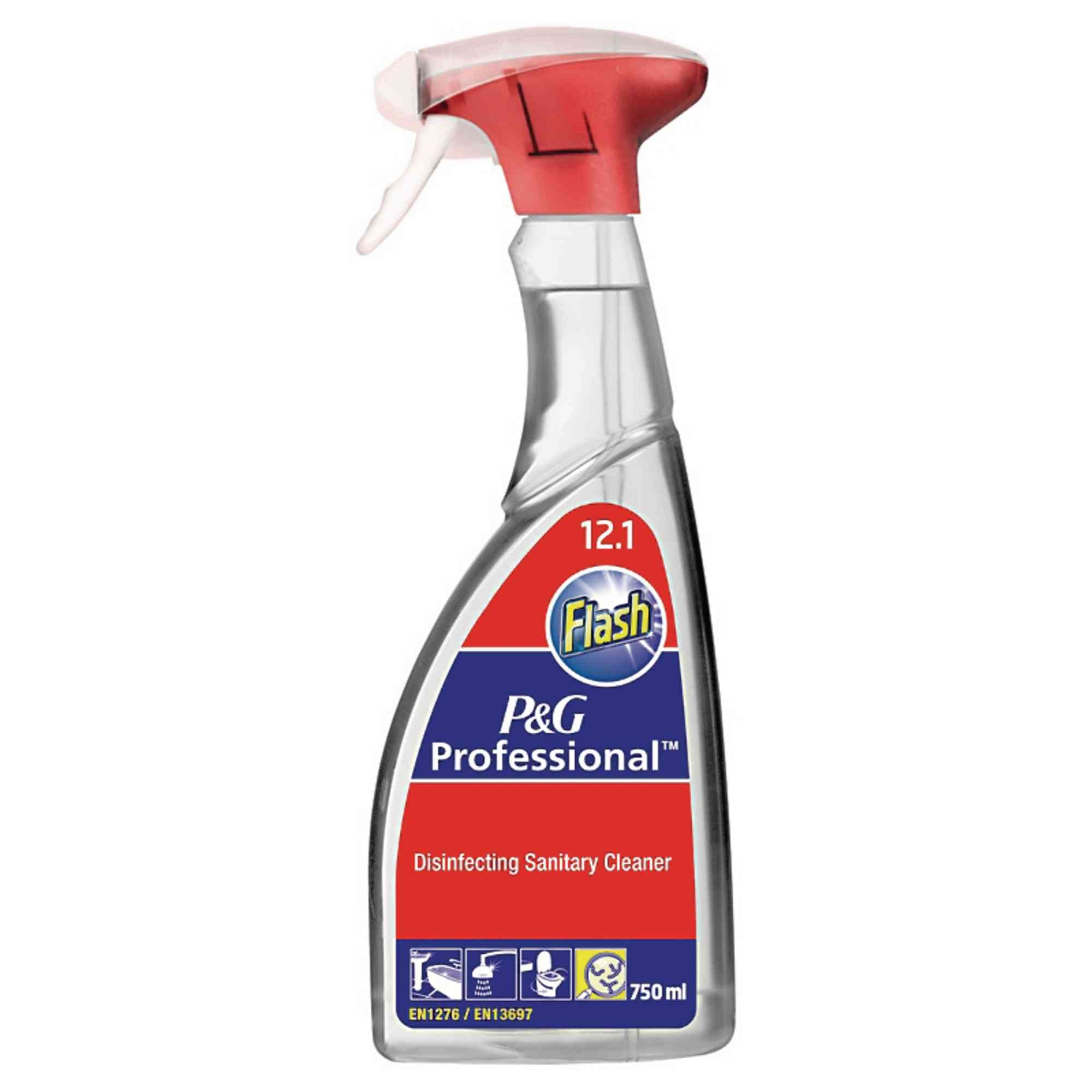Flash Disinfectant Sanitary Spray6x750ml