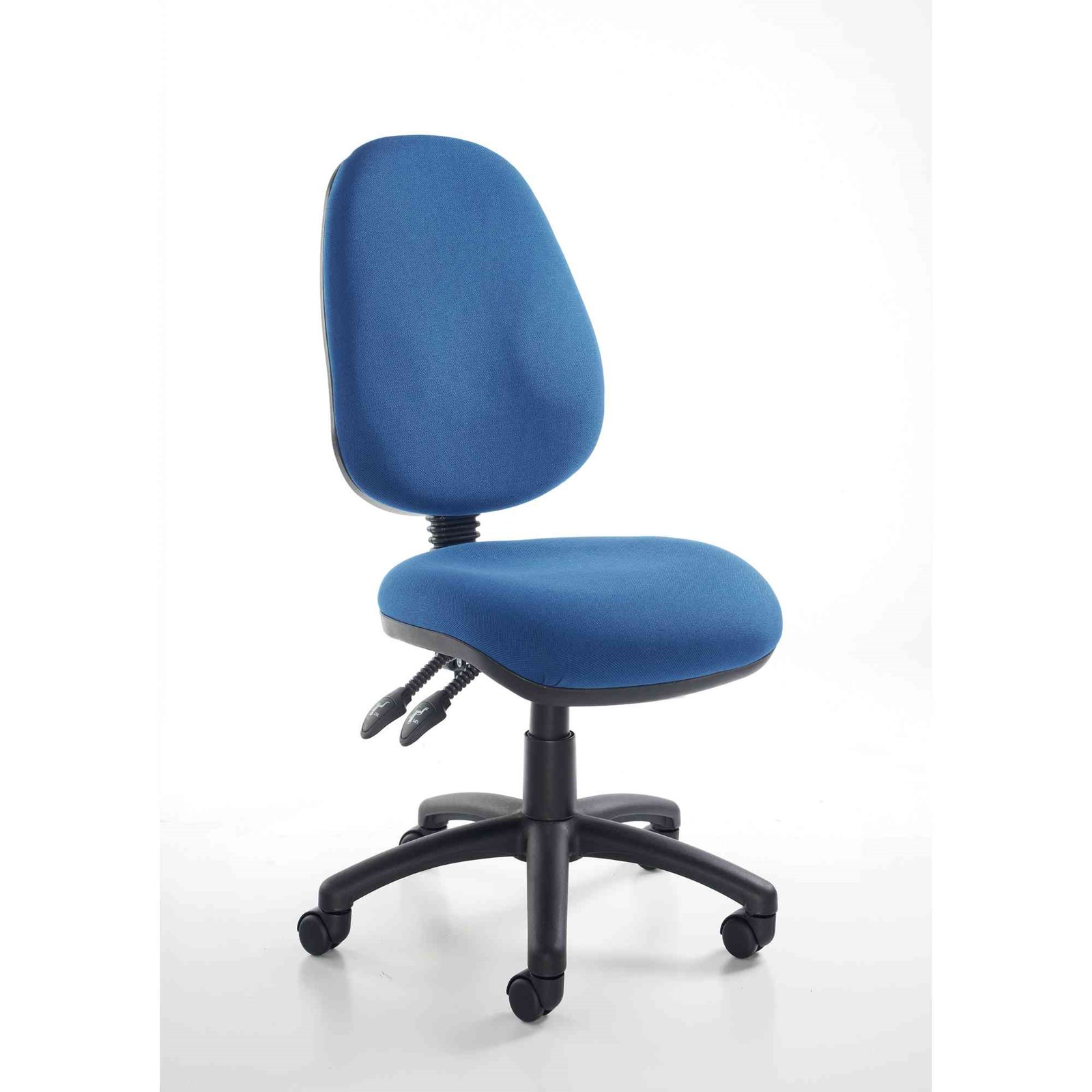 Operator Chair - No Arms - Blue