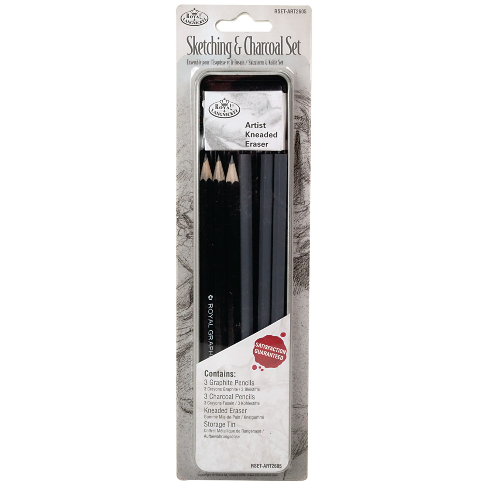 Sketching and Charcoal Set