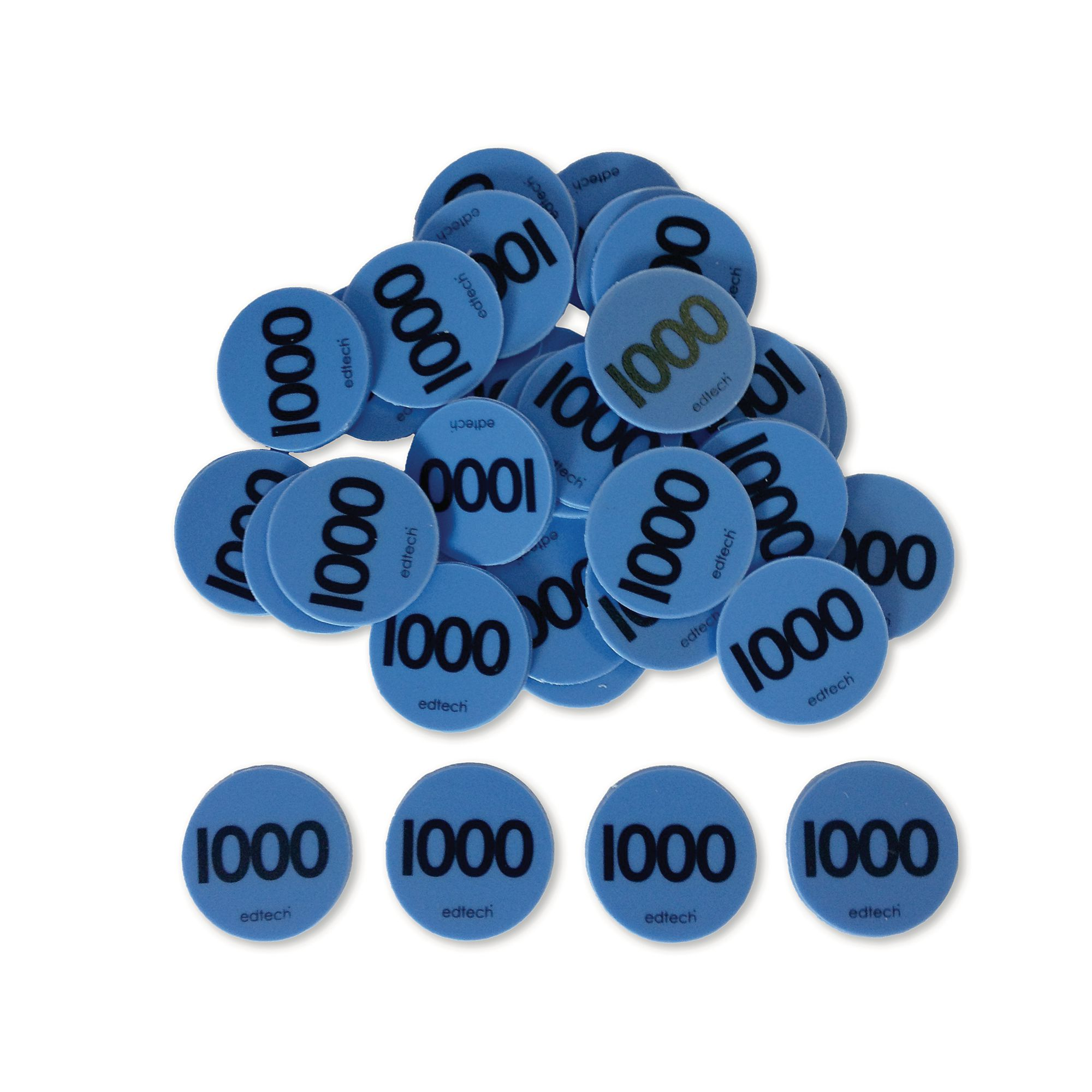 Place Value Counters 1000 S Pack 100 He1201297