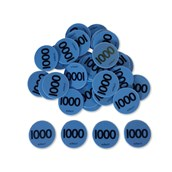 Place Value Counters - 1000's - Pack 100