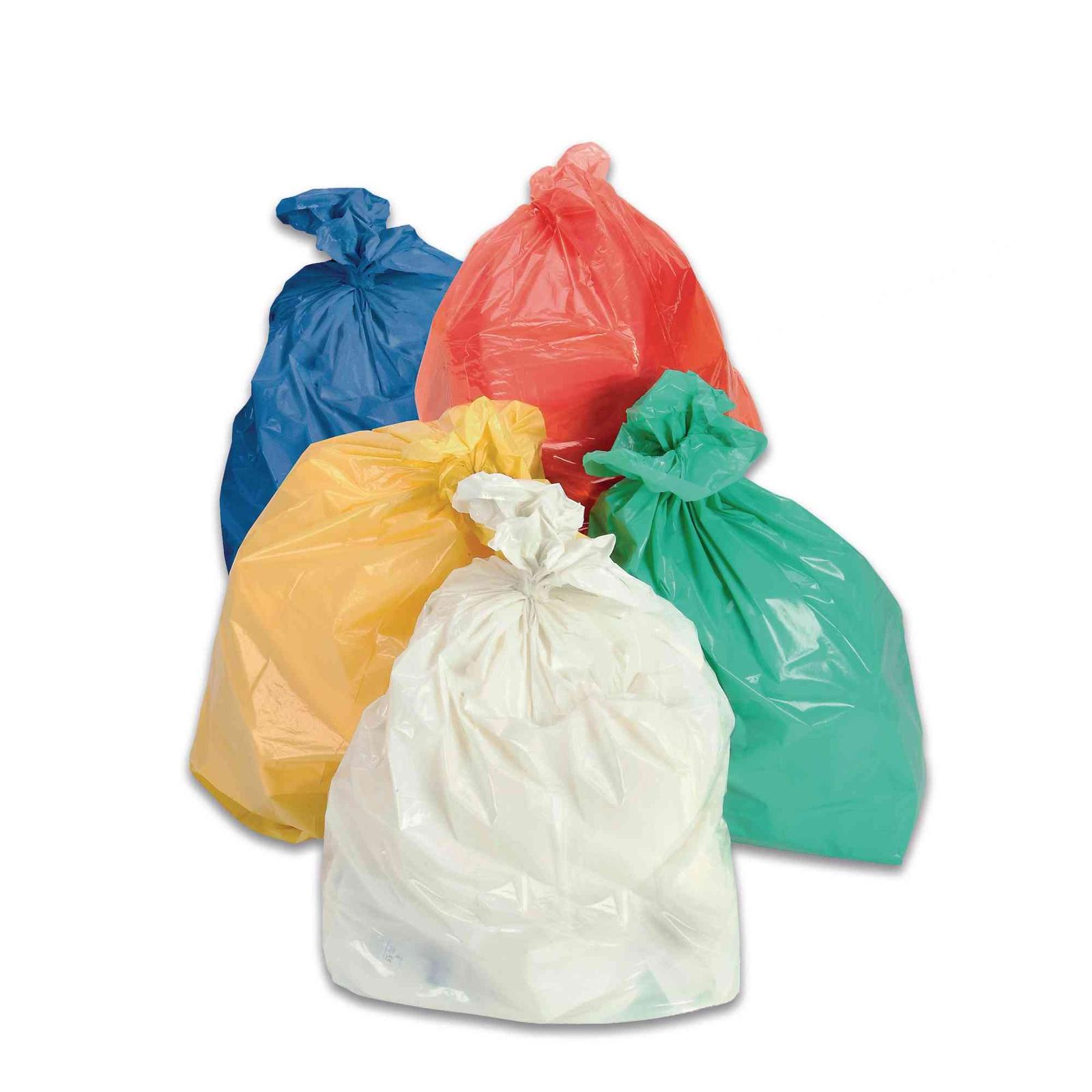 Coloured Refuse Sacks - White