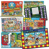 Memory Skills Board Games