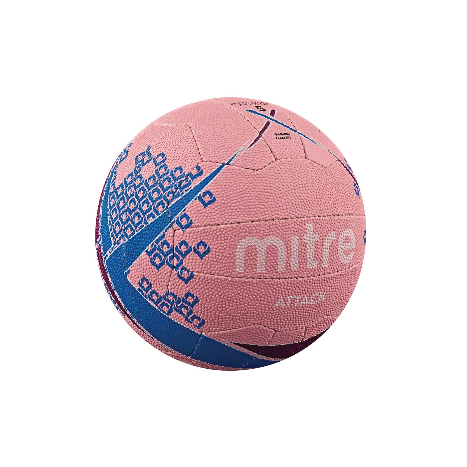 Mitre Attack Netball Size 5 Pack 12