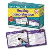 Reading Comprehension Starter Pack Set 2 - Pack of 54