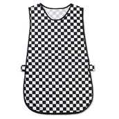 Checked Patterned Tabard - Large