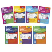 The Complete Spelling Programme - Levels A-G - Age 5-11+