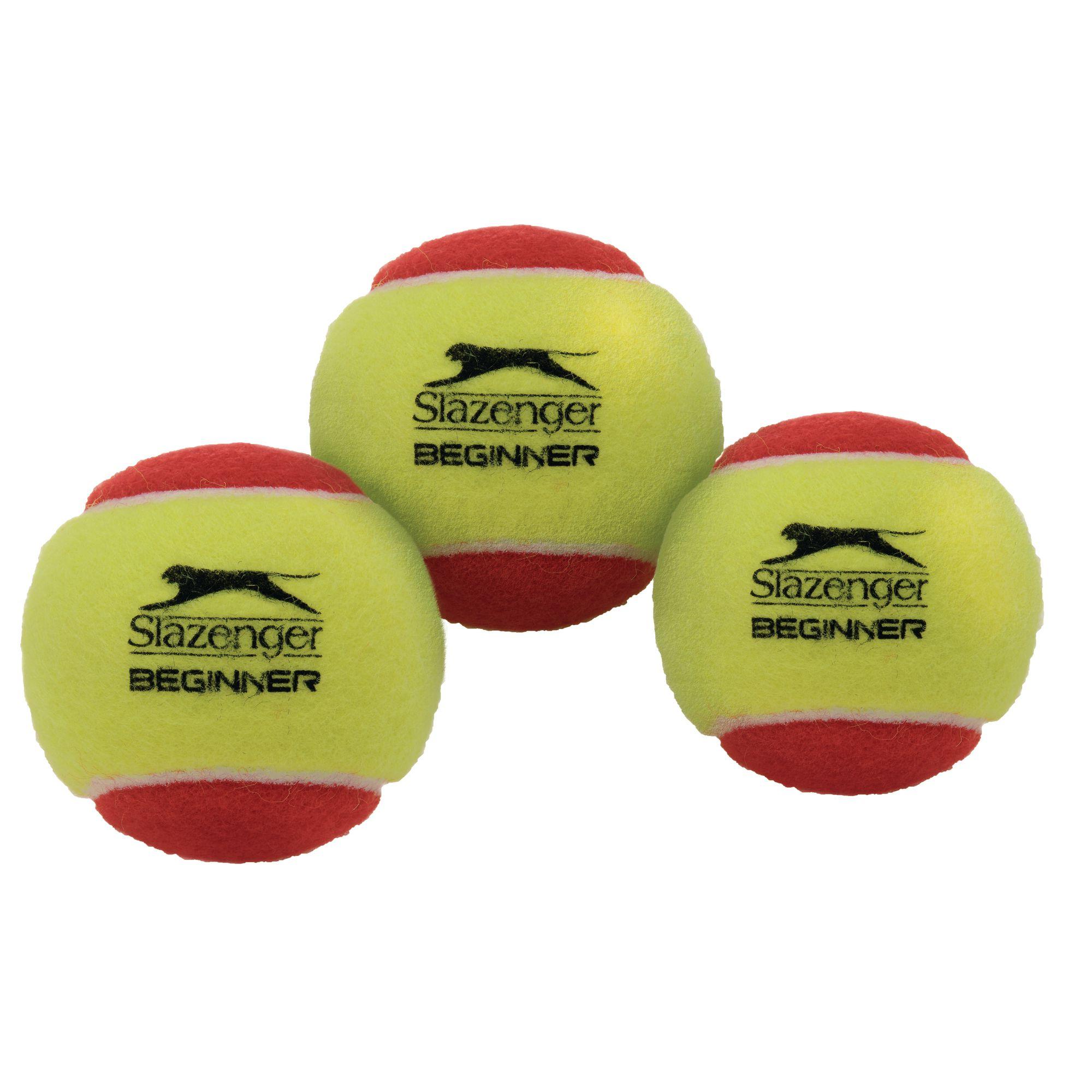 Itnp05053 Slazenger Mini Red Stage Tennis Balls Pack Of 3 Findel International
