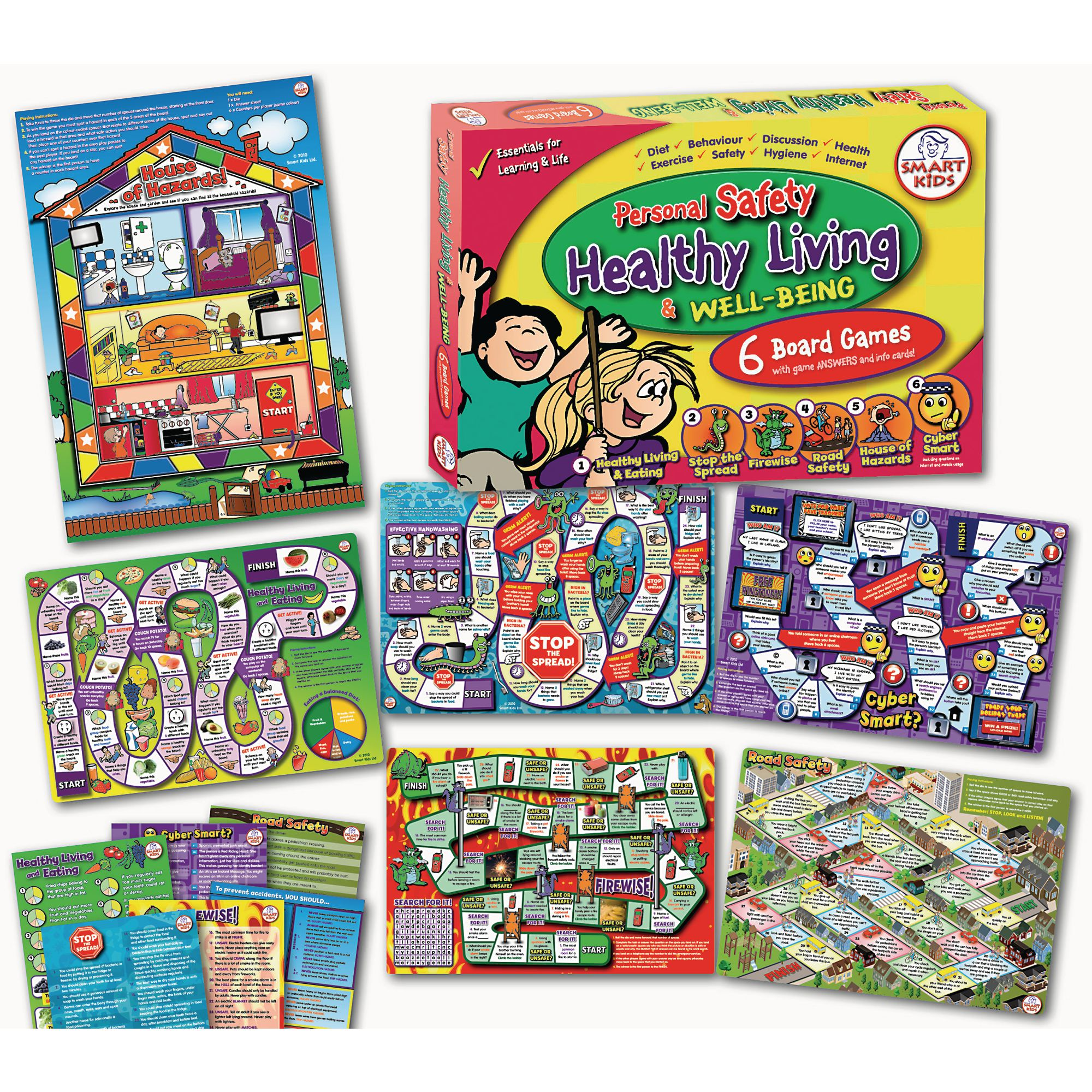 Healthy Living Board Games Hope Education