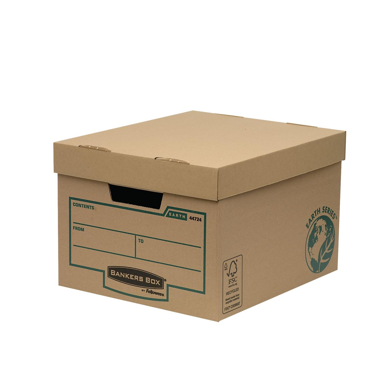 Budget Box - Brown/Green