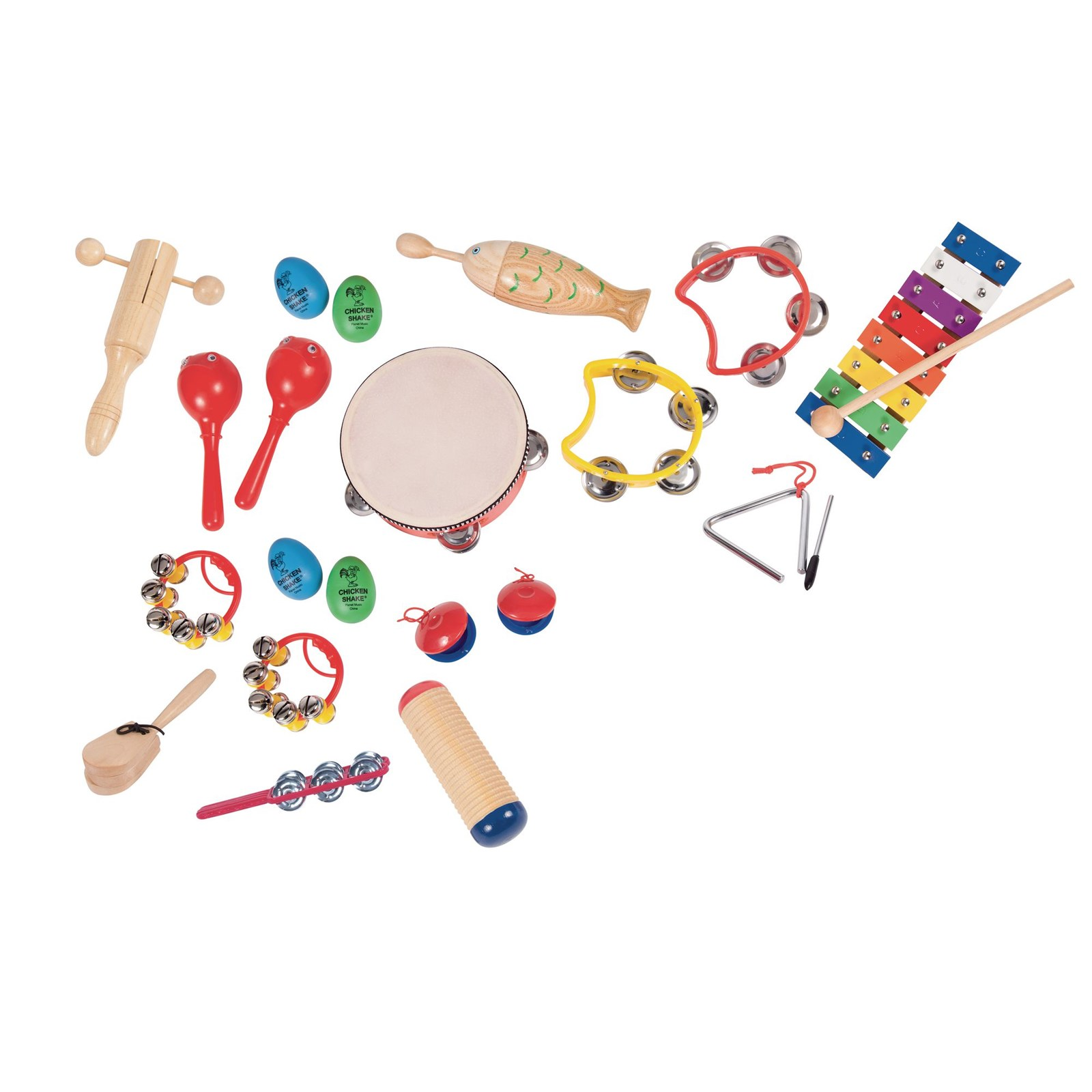 Reception Percussion Kit - Pack of 18