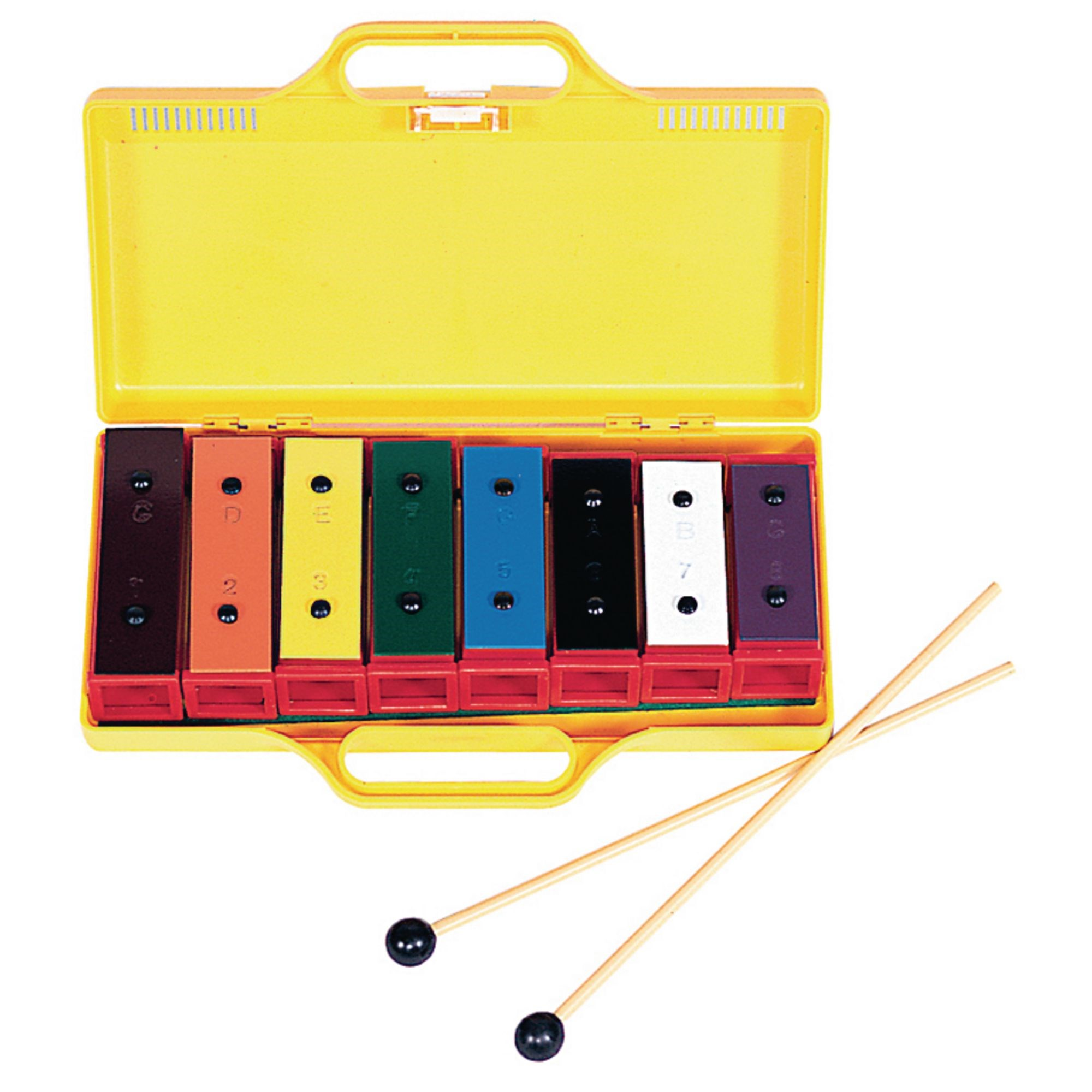 8 Note Chime Bar Set With Case