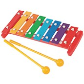 Small Metal 8 Note Glockenspiel