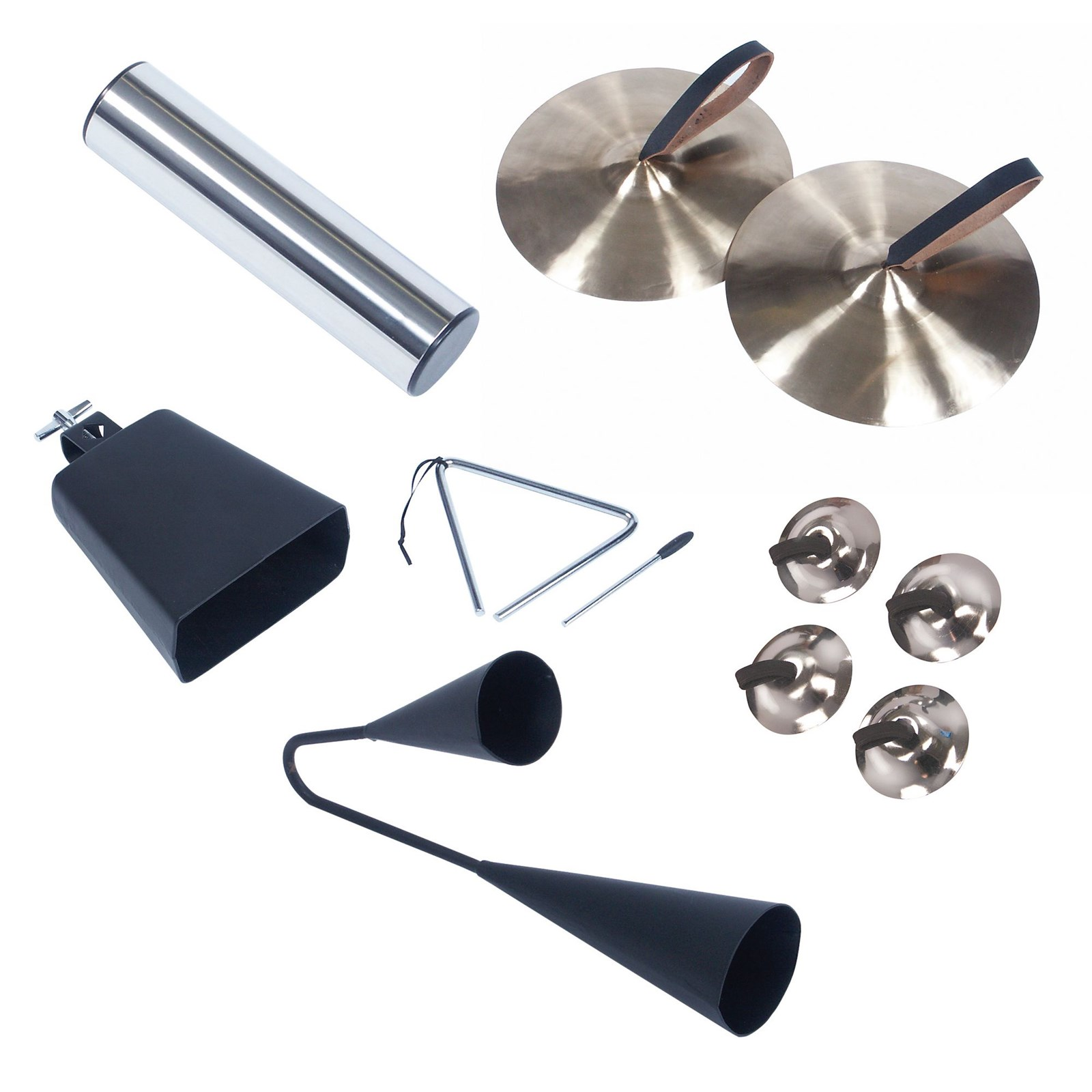 Metal Percussion Instrument Set - Pack of 7