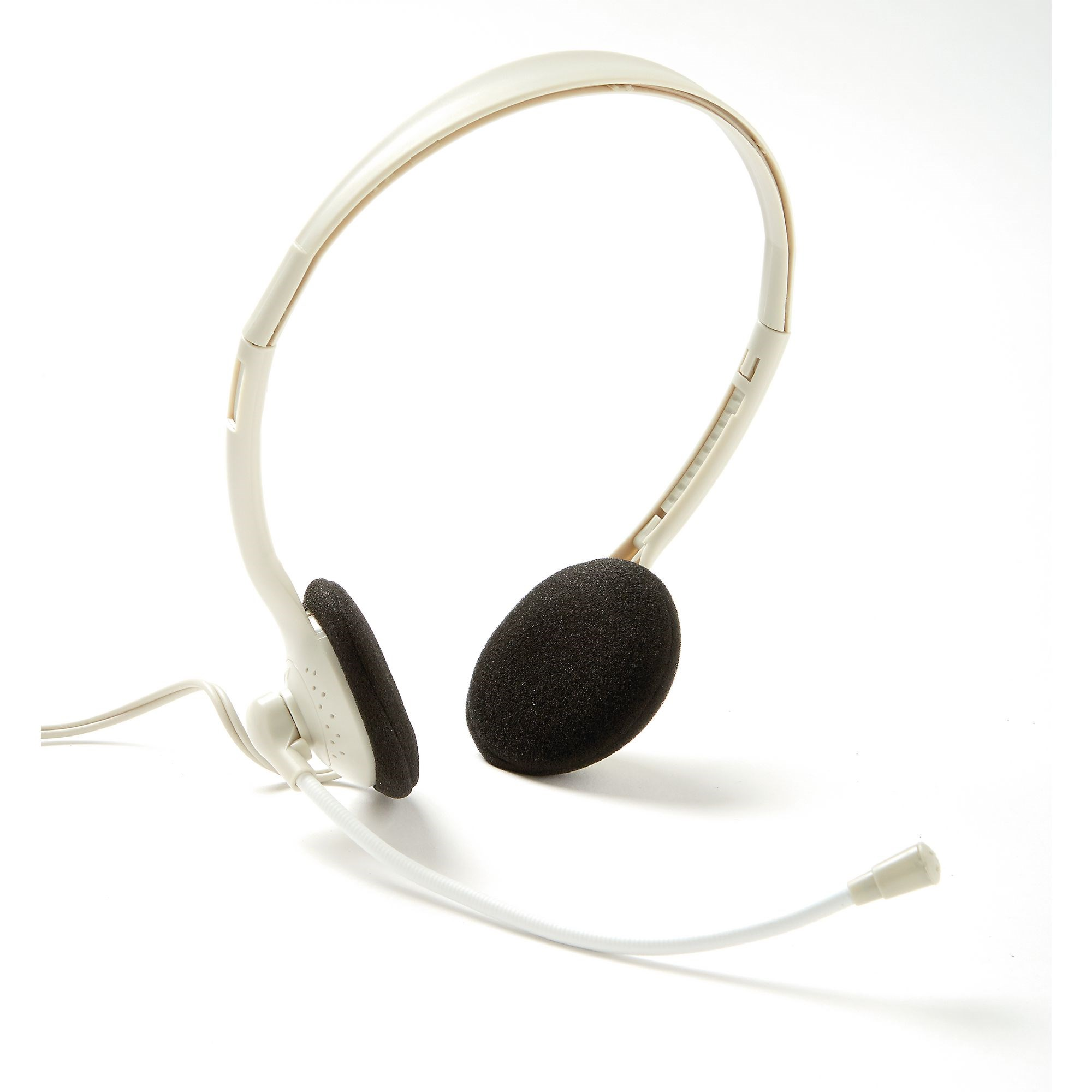 Lightweight Headphones with Microphone