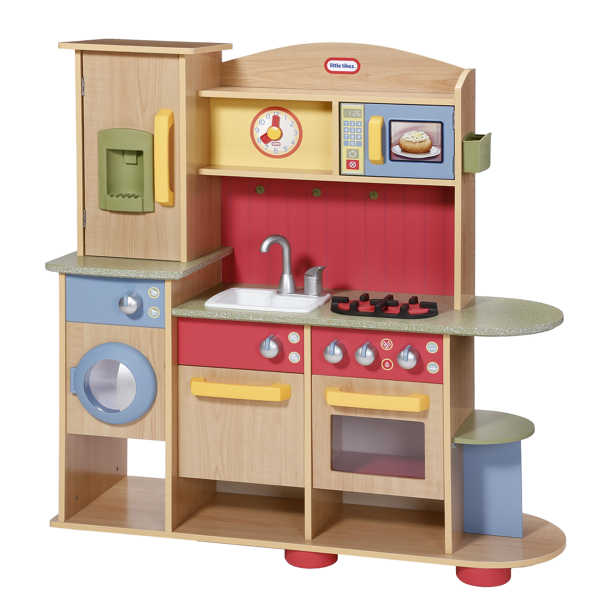 Small Wooden Play Kitchen By Heartwood By Heartwoodnaturaltoys: Little Tikes Premium Wood Kitchen