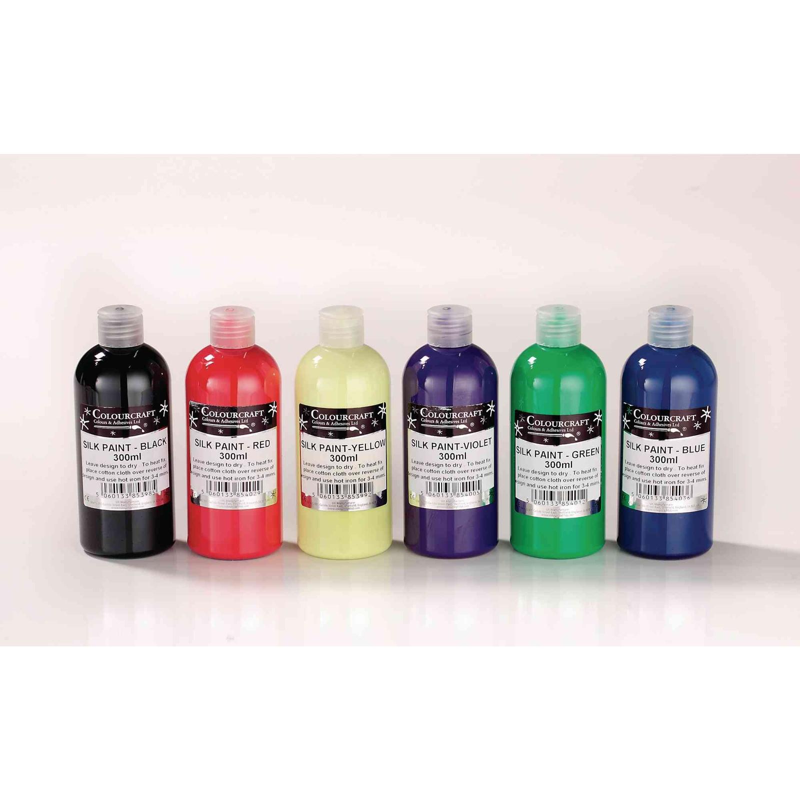 Colourcraft Silk Paint - Black