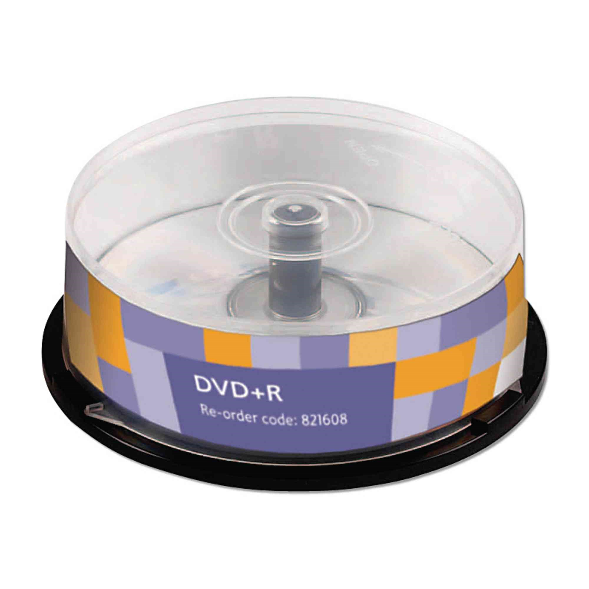 DVD+ Recordable Spindle Pk25