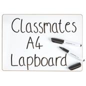 Classmates Rigid Whiteboards - Non-magnetic - A4 Plain - Pack 35