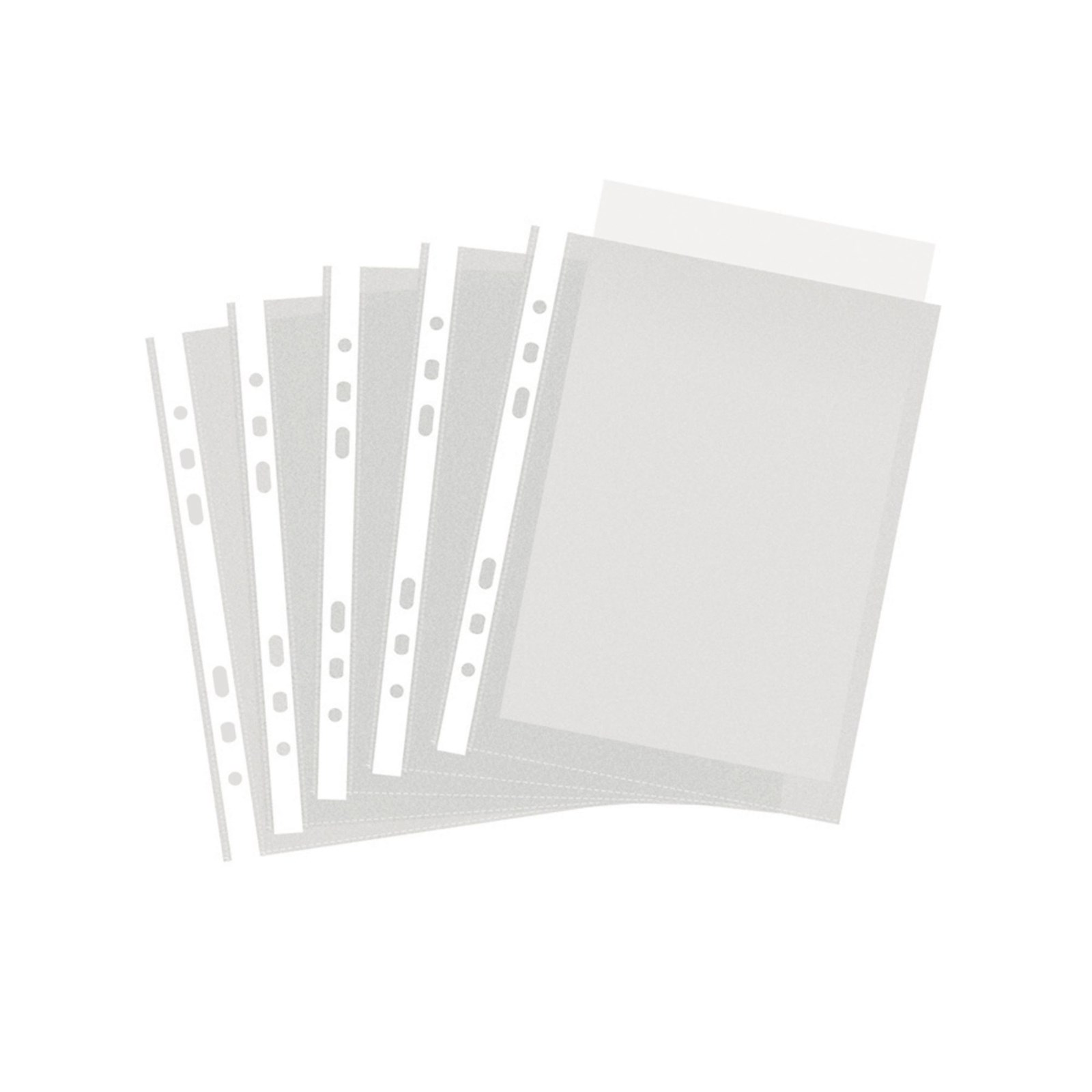 Classmates Punched Pocket A5 Clear - Pack of 100