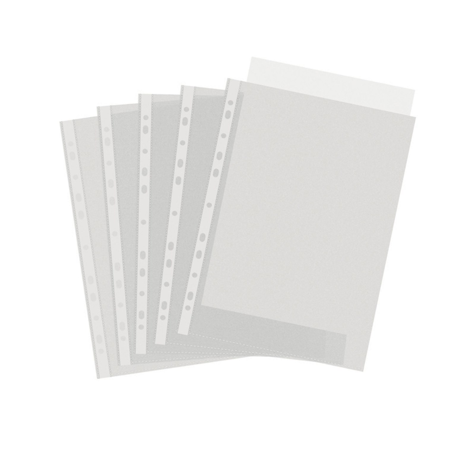 Heavy Duty Punched Pocket A4 Clear - Pack of 100