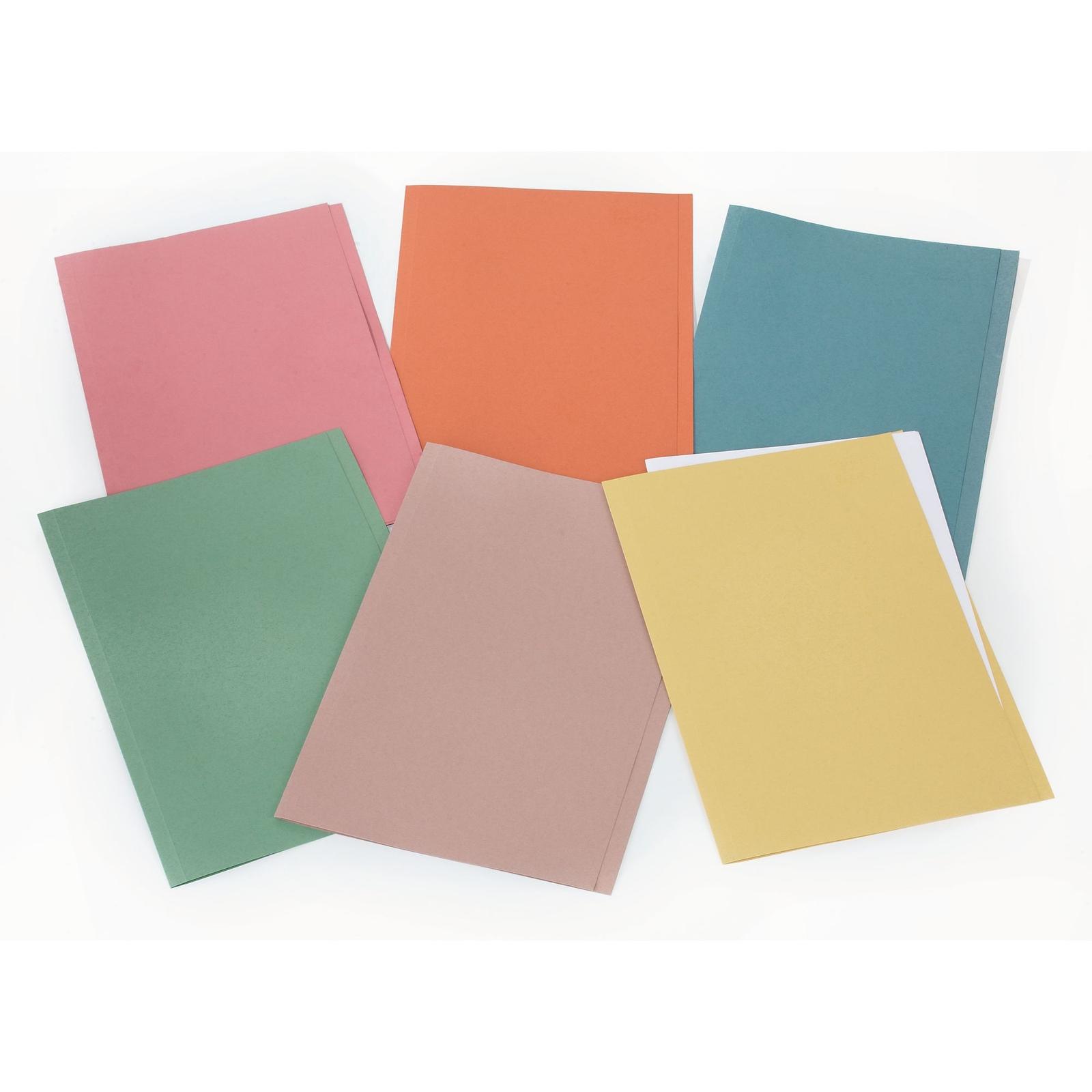 Classmates Square Cut Folder Foolscap - Pink - Pack of 100