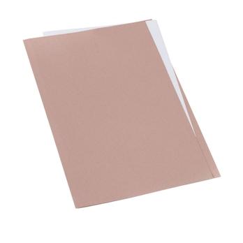 Classmates Square Cut Folder Foolscap - Buff - Pack of 100 | AtoZ Supplies