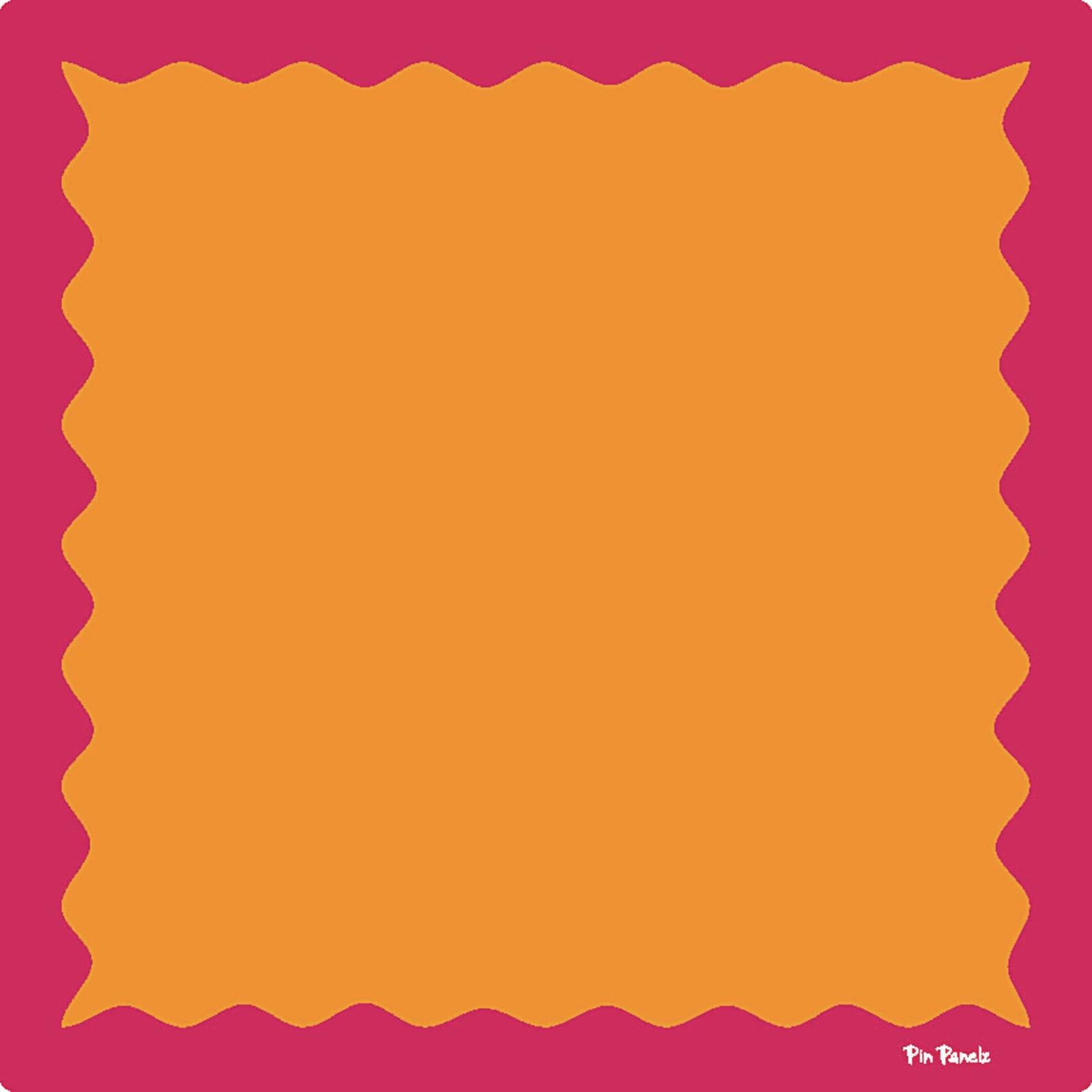 Funky Pin Panelz Pink/Orange- W900 x H900mm