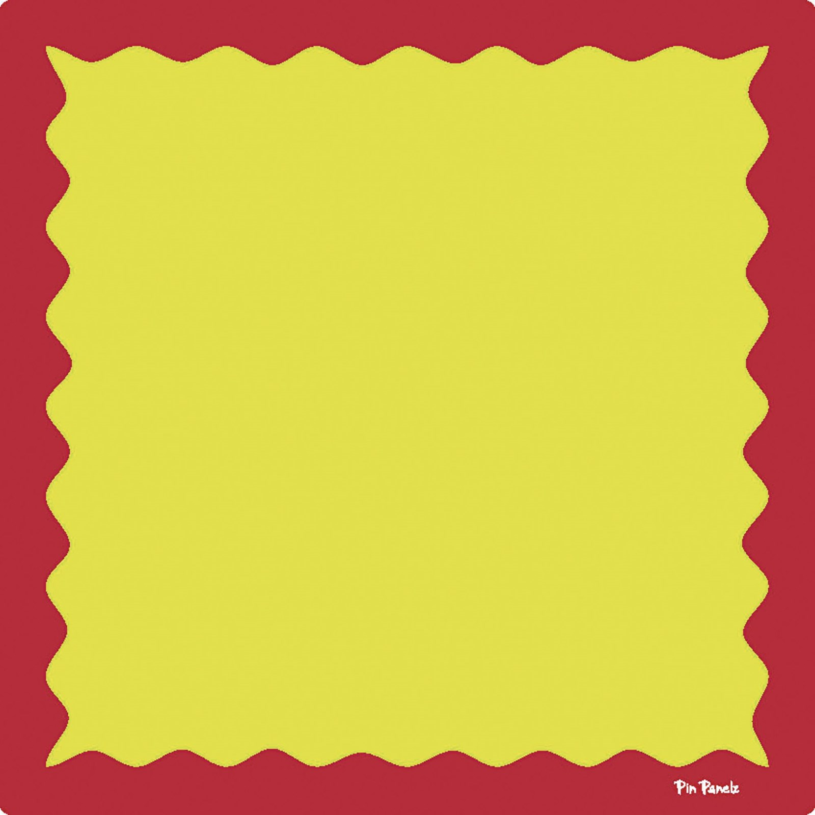 Funky Pin Panelz Red/Yellow - W900 x H900mm