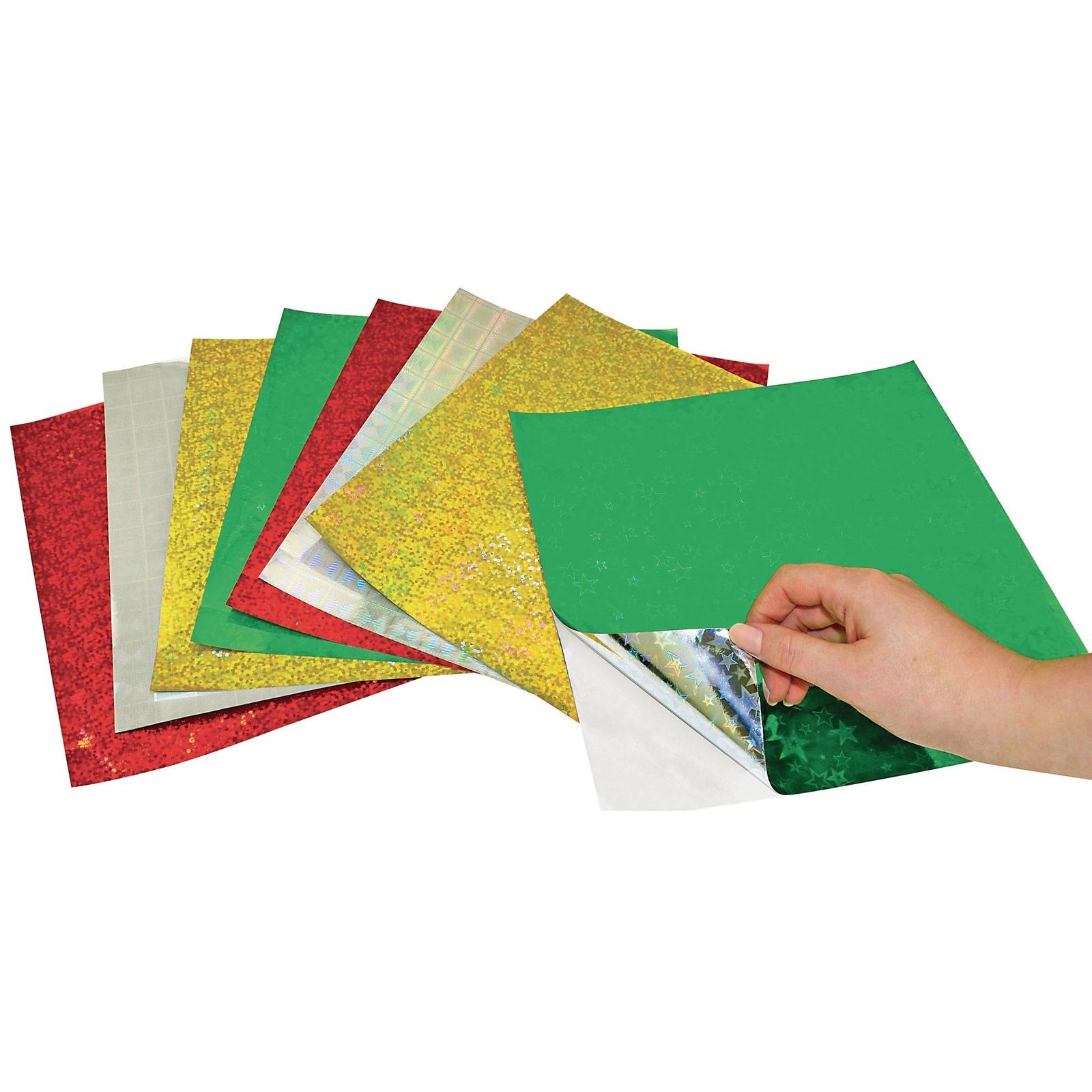 Holographic Self Adhesive Sheets