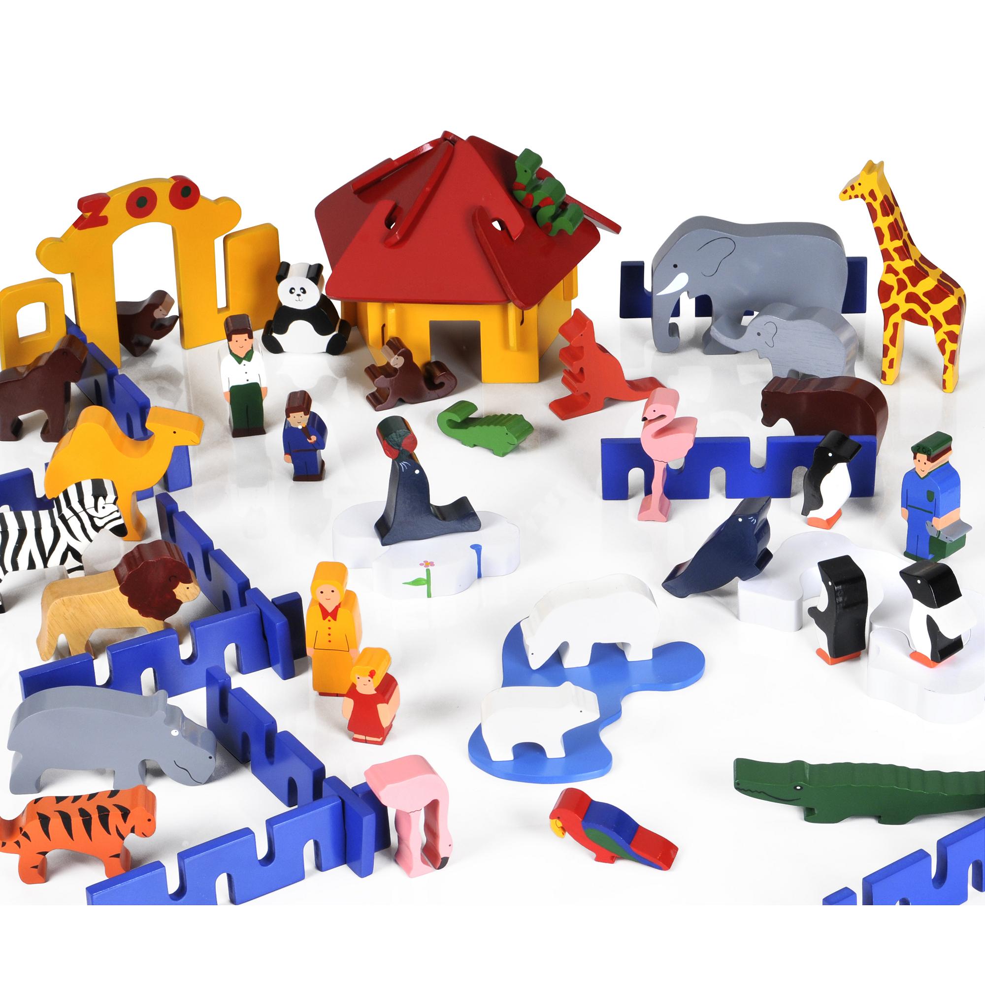 Giant Wooden Zoo